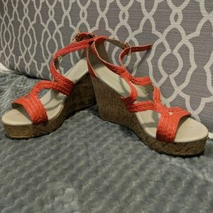Banana Republic Coral Wedges